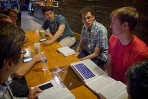 NLGC-E Bible Study at CoffeeHolic