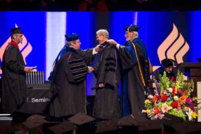 NLGC-E Dr Kent Graduated from Dallas Theological Seminary