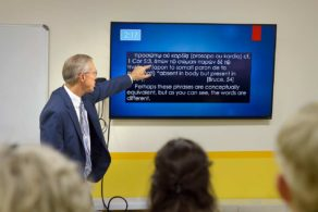 NLGC-E Dr Kent Teaching Adult Sunday School